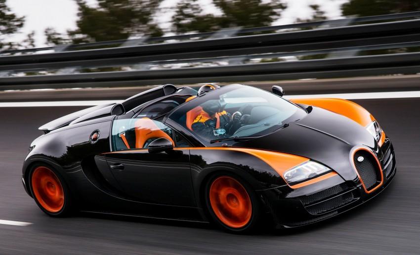VIDEO: See the Bugatti Veyron Grand Sport Vitesse World Record Car Edition achieve 408.84 km/h Image #172223
