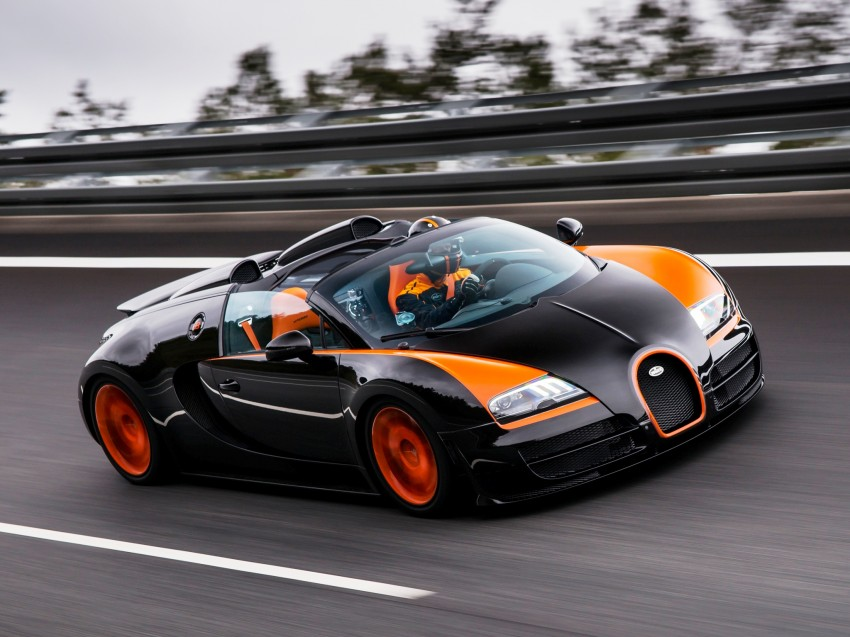 VIDEO: See the Bugatti Veyron Grand Sport Vitesse World Record Car Edition achieve 408.84 km/h Image #172224