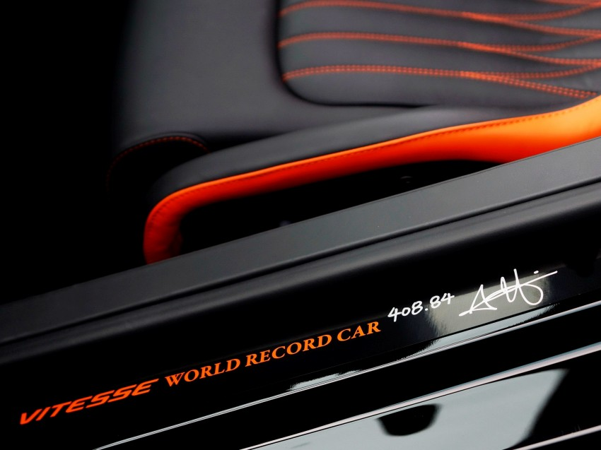 VIDEO: See the Bugatti Veyron Grand Sport Vitesse World Record Car Edition achieve 408.84 km/h Image #172236