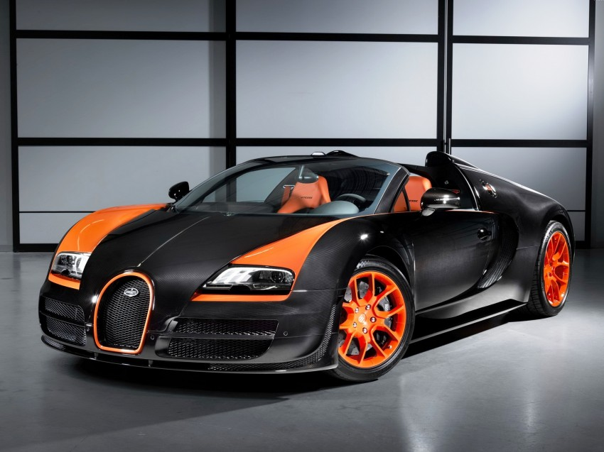 VIDEO: See the Bugatti Veyron Grand Sport Vitesse World Record Car Edition achieve 408.84 km/h Image #172237