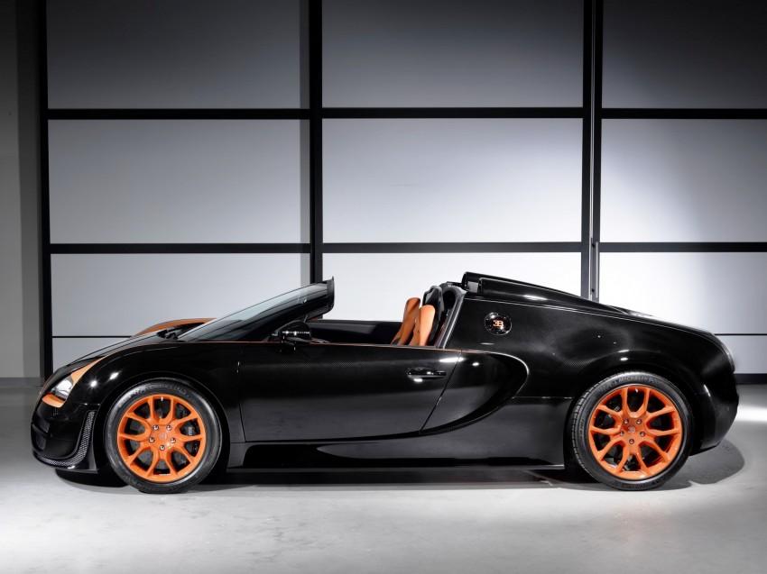VIDEO: See the Bugatti Veyron Grand Sport Vitesse World Record Car Edition achieve 408.84 km/h Image #172238