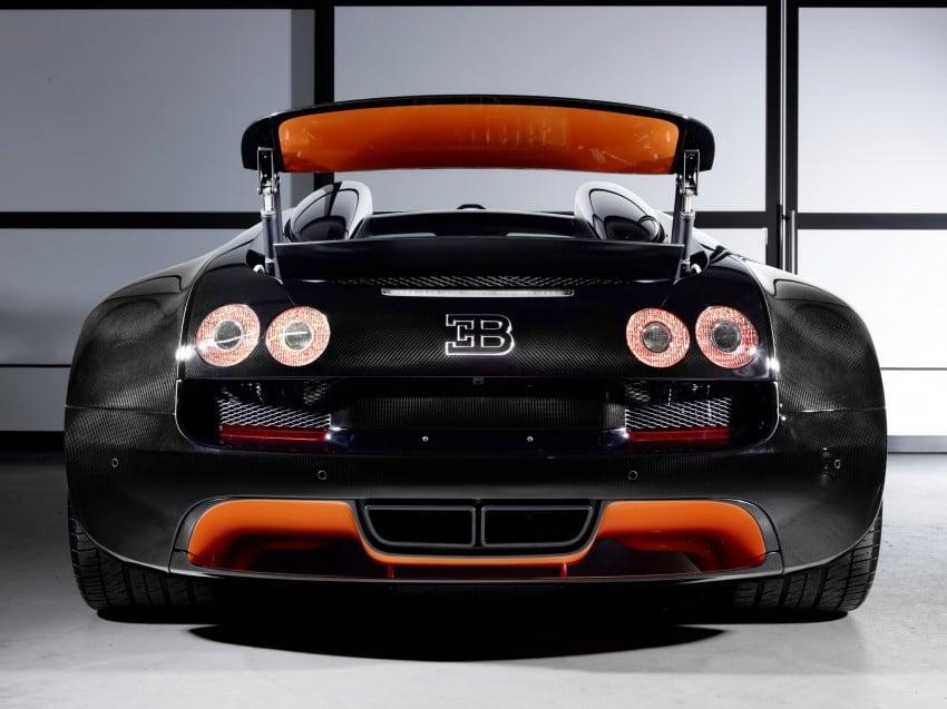 VIDEO: See the Bugatti Veyron Grand Sport Vitesse World Record Car Edition achieve 408.84 km/h Image #172242
