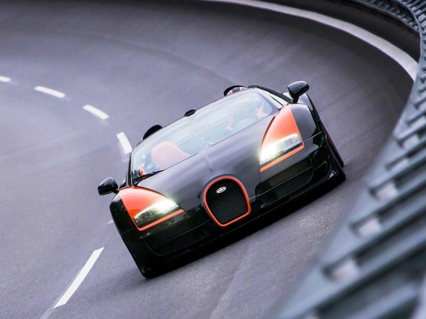 VIDEO: See the Bugatti Veyron Grand Sport Vitesse World Record Car Edition achieve 408.84 km/h Image #172225