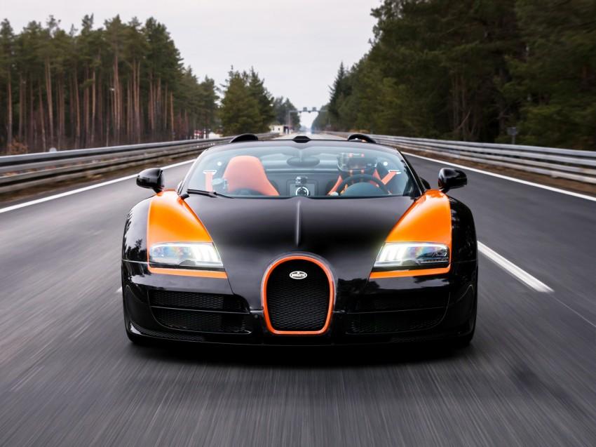 VIDEO: See the Bugatti Veyron Grand Sport Vitesse World Record Car Edition achieve 408.84 km/h Image #172229