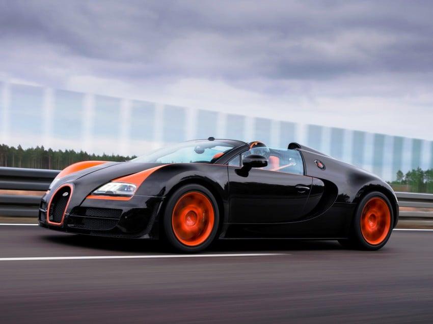 VIDEO: See the Bugatti Veyron Grand Sport Vitesse World Record Car Edition achieve 408.84 km/h Image #172231