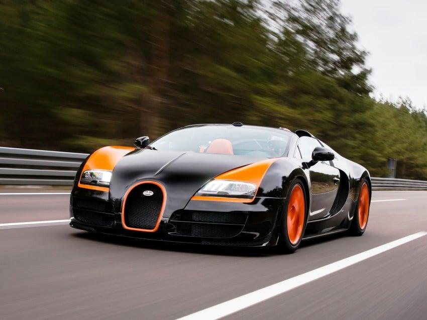 VIDEO: See the Bugatti Veyron Grand Sport Vitesse World Record Car Edition achieve 408.84 km/h Image #172232