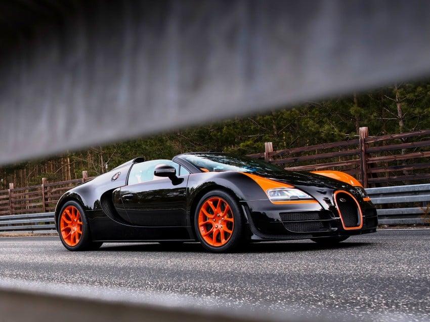 VIDEO: See the Bugatti Veyron Grand Sport Vitesse World Record Car Edition achieve 408.84 km/h Image #172233