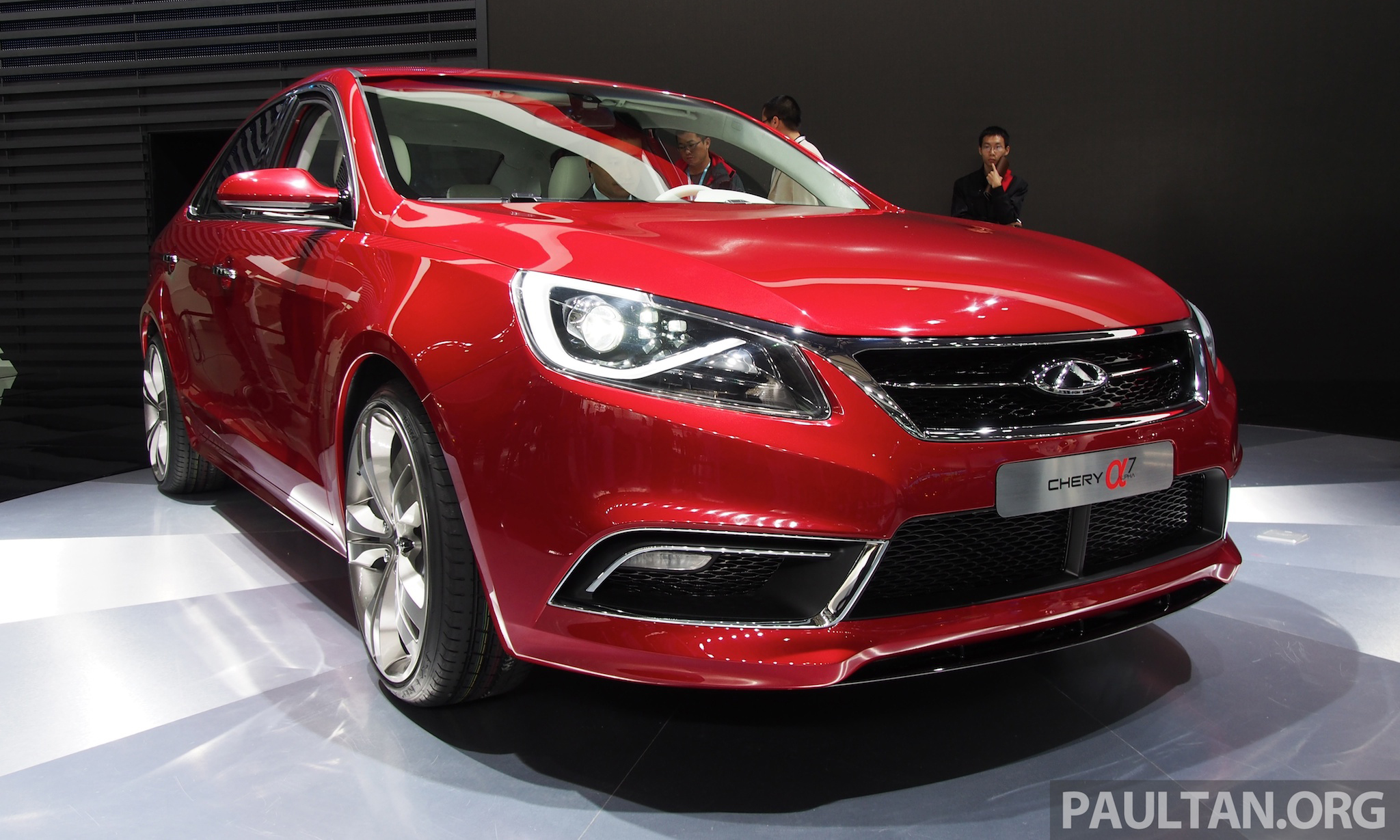 Car Image S >> Chery Alpha 7 shows Chery is still learning fast! Paul Tan - Image 170298