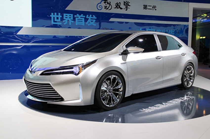 Toyota Yundong Shuangqing II concept debuts in Shanghai – will the next Corolla get a hybrid variant? Image #171813