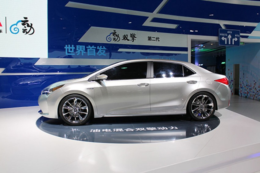 Toyota Yundong Shuangqing II concept debuts in Shanghai – will the next Corolla get a hybrid variant? Image #171814