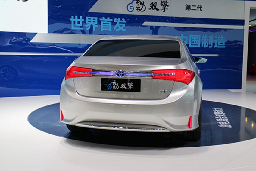 Toyota Yundong Shuangqing II concept debuts in Shanghai – will the next Corolla get a hybrid variant? Image #171815