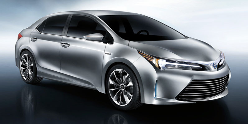 Toyota Yundong Shuangqing II concept debuts in Shanghai – will the next Corolla get a hybrid variant? Image #171816