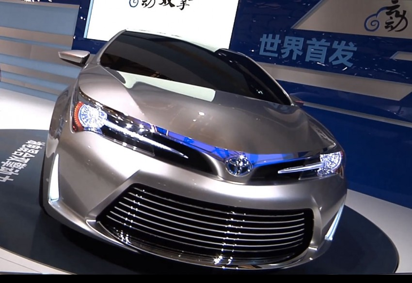 Toyota Yundong Shuangqing II concept debuts in Shanghai – will the next Corolla get a hybrid variant? Image #171819