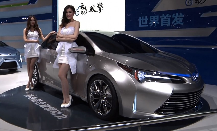 Toyota Yundong Shuangqing II concept debuts in Shanghai – will the next Corolla get a hybrid variant? Image #171821