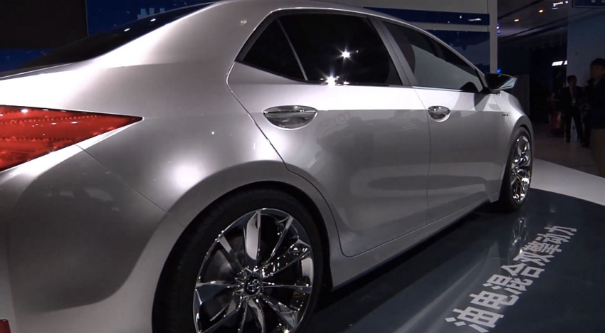 Toyota Yundong Shuangqing II concept debuts in Shanghai – will the next Corolla get a hybrid variant? Image #171824