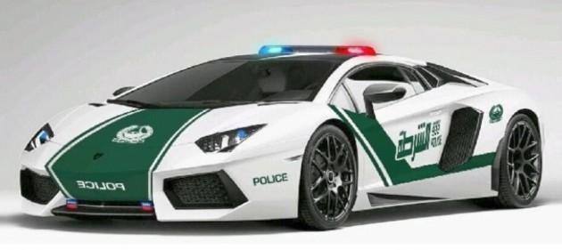dubai police lamborghini aventador 1