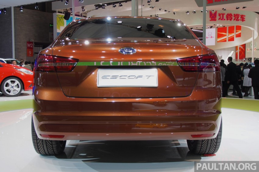Ford Escort Concept – new compact sedan for China Image #169953
