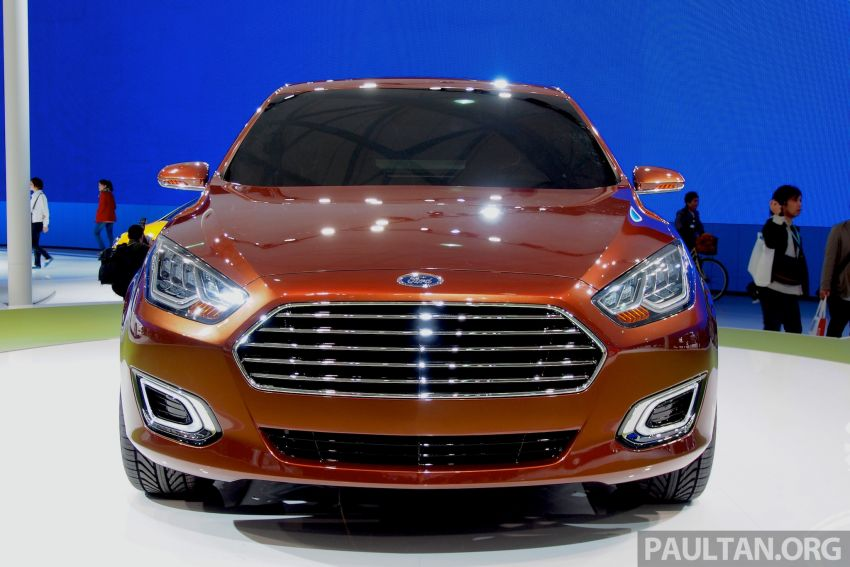 Ford Escort Concept – new compact sedan for China Image #169963