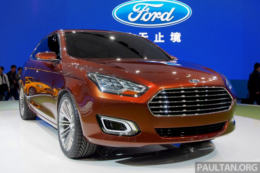 Ford Escort Concept – new compact sedan for China Image #169964