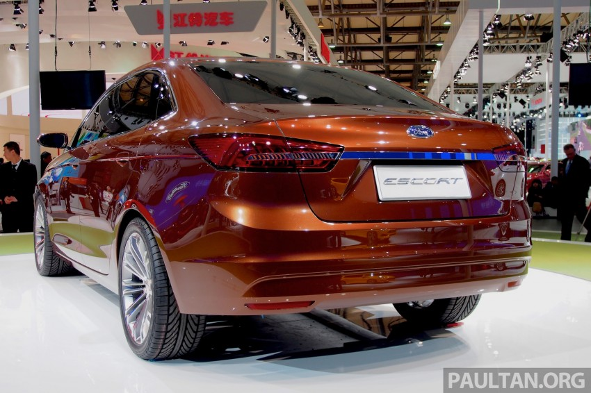 Ford Escort Concept – new compact sedan for China Image #169954