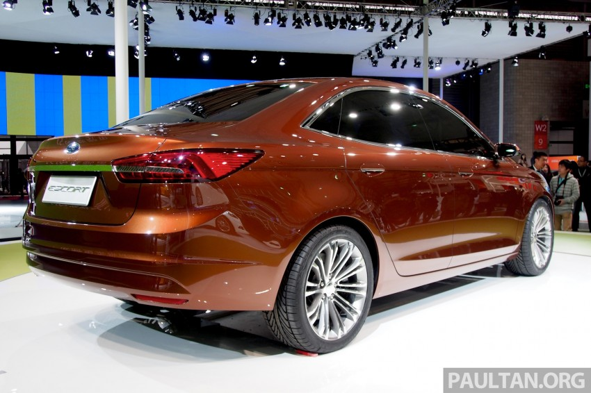 Ford Escort Concept – new compact sedan for China Image #169957