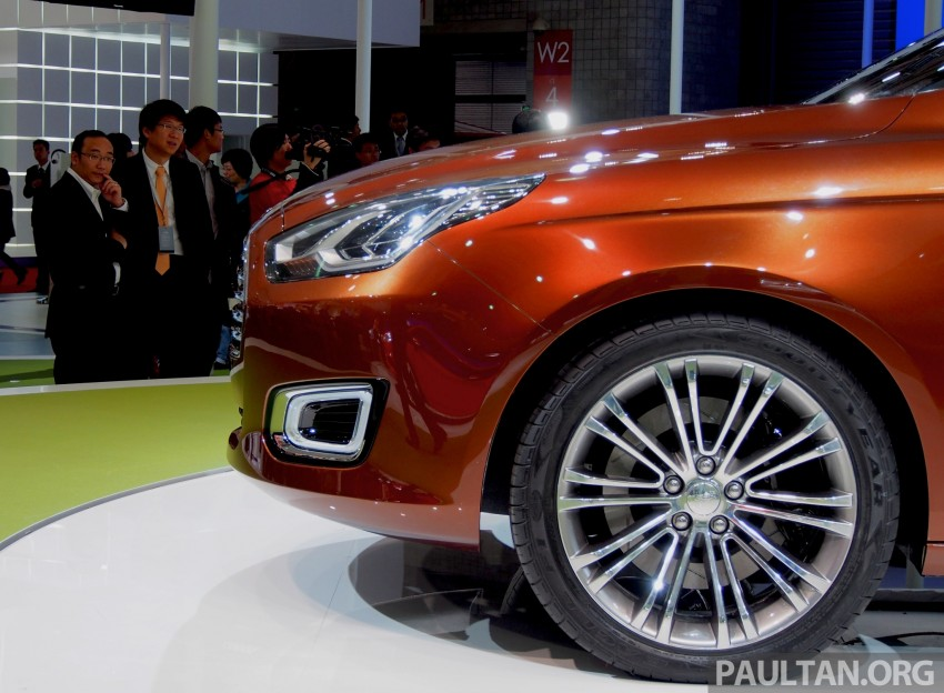 Ford Escort Concept – new compact sedan for China Image #169958