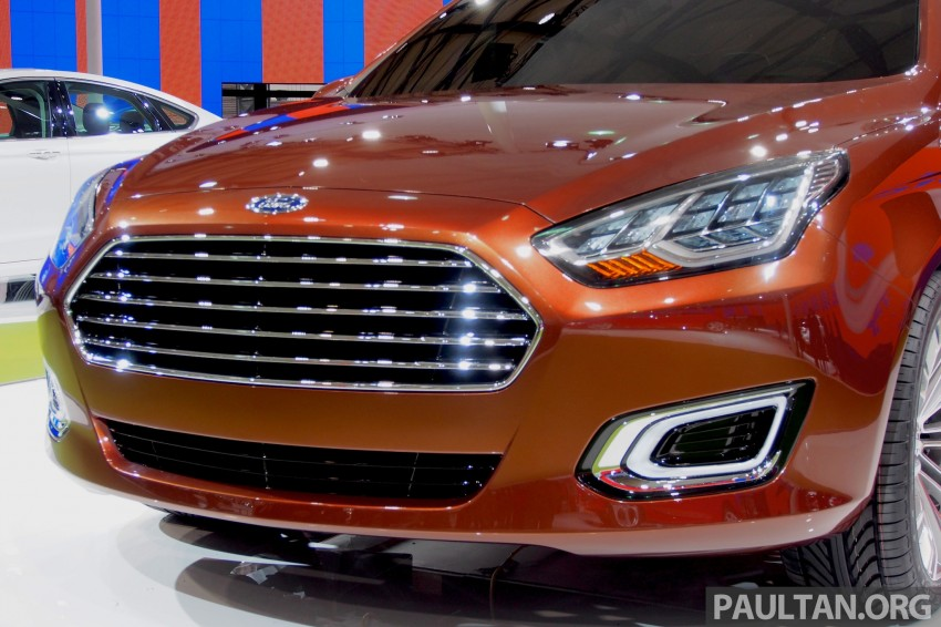 Ford Escort Concept – new compact sedan for China Image #169959