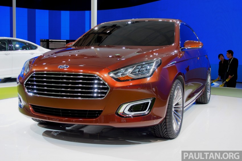 Ford Escort Concept – new compact sedan for China Image #169960