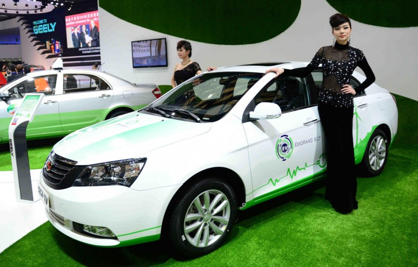 Geely and Detroit Electric to co-develop EVs for China Image #171794