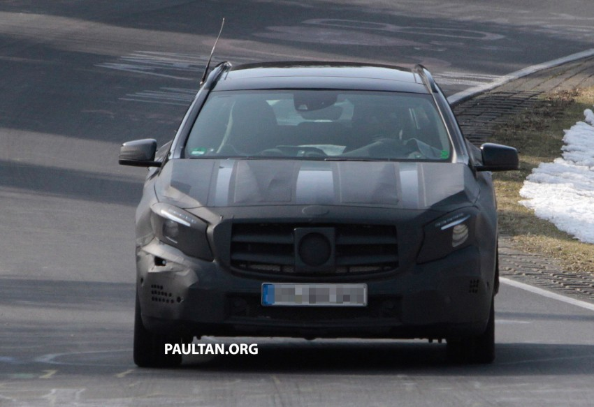 SPIED: Mercedes-Benz GLA 45 AMG on the 'Ring Image #167704