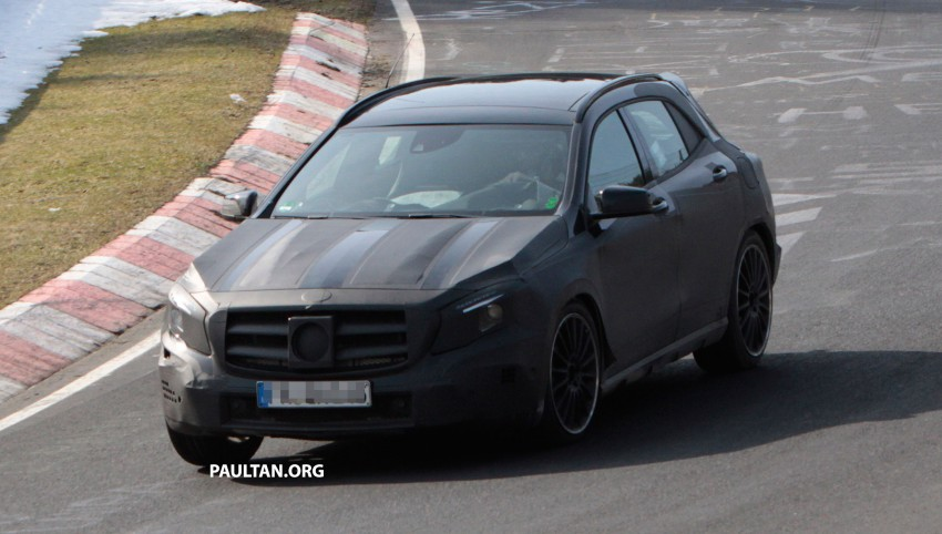 SPIED: Mercedes-Benz GLA 45 AMG on the 'Ring Image #167705