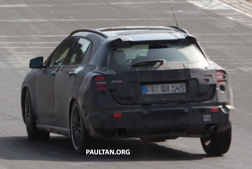 SPIED: Mercedes-Benz GLA 45 AMG on the 'Ring Image #167709