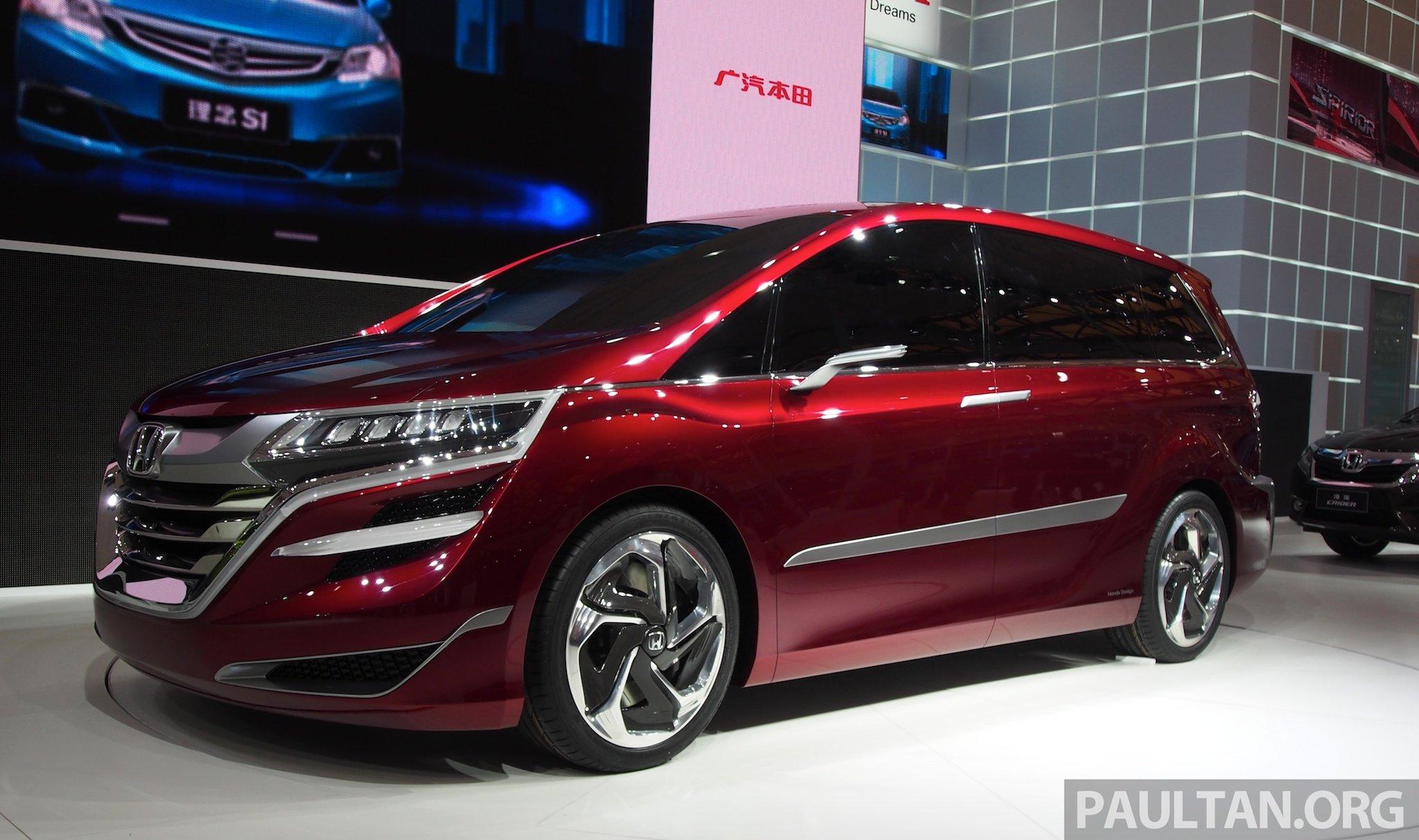 Honda Concept M 1 10 on 2018 Honda Odyssey Interior