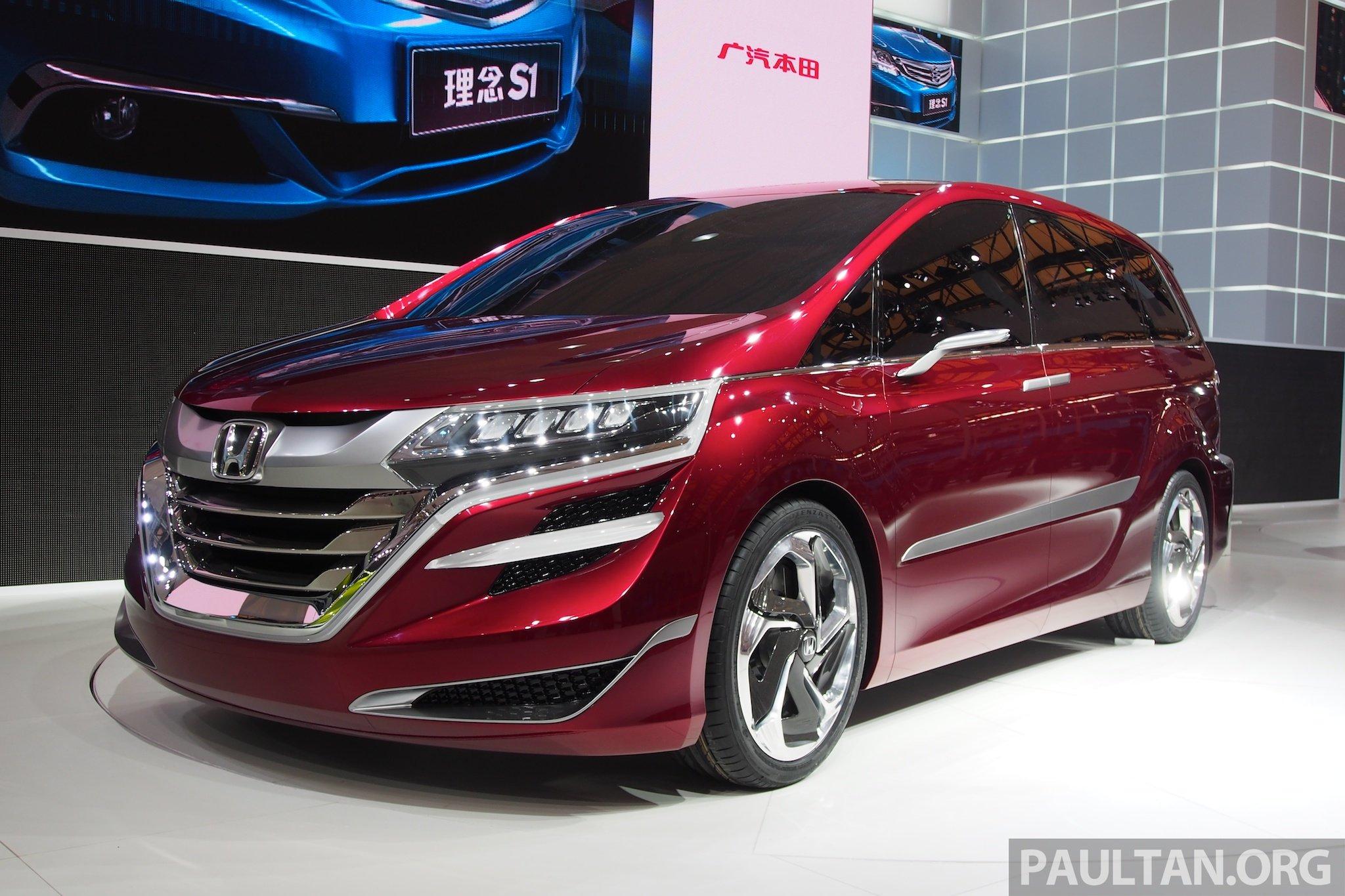 Back to Story: Honda Concept M MPV debuts at Auto Shanghai 2013