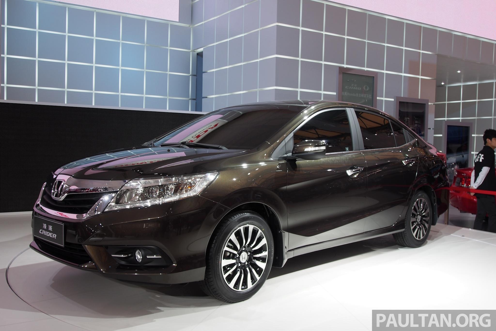 Shanghai 2013: Honda Crider production car debuts Image 170533