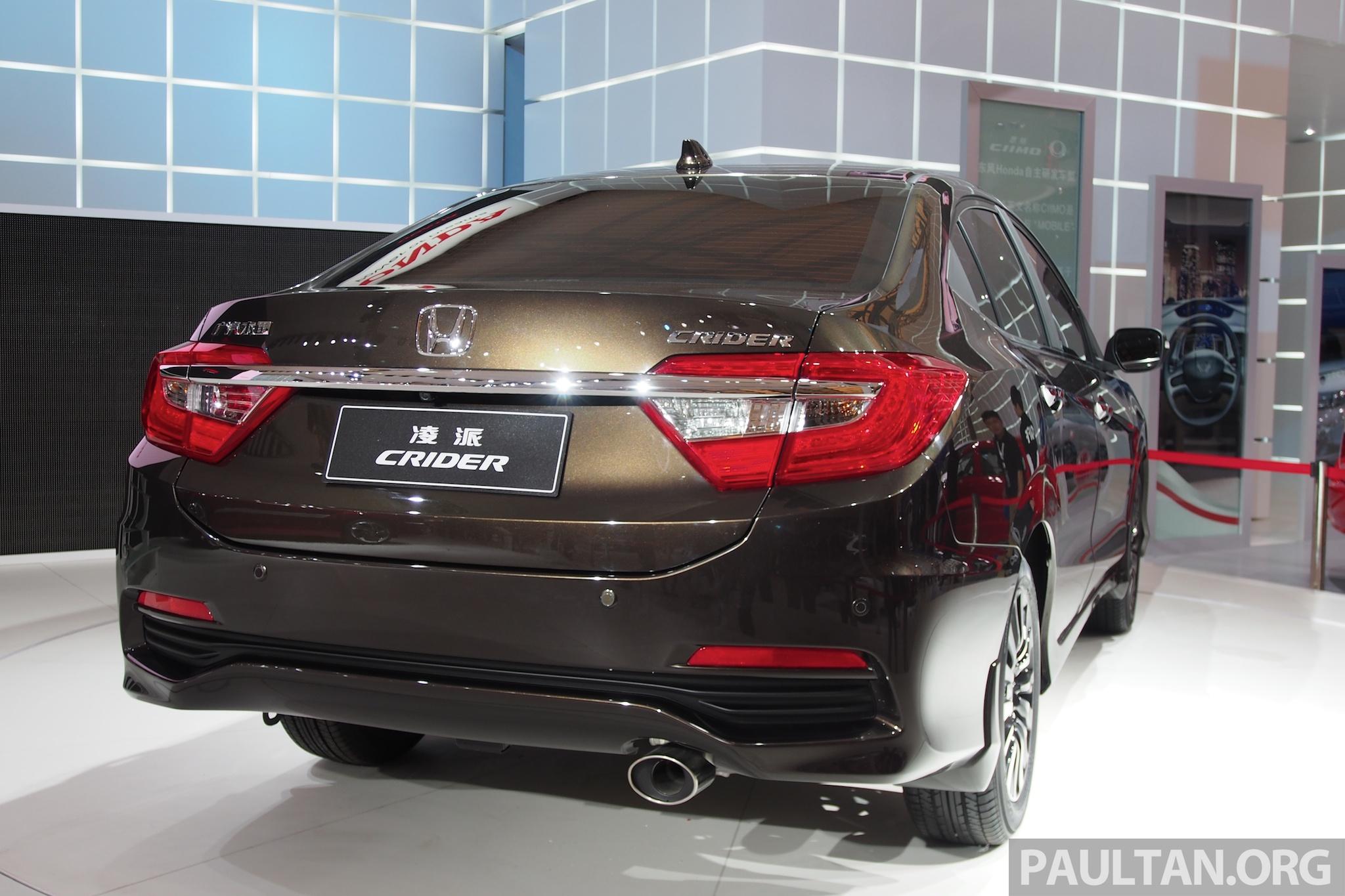Shanghai 2013: Honda Crider production car debuts honda ...