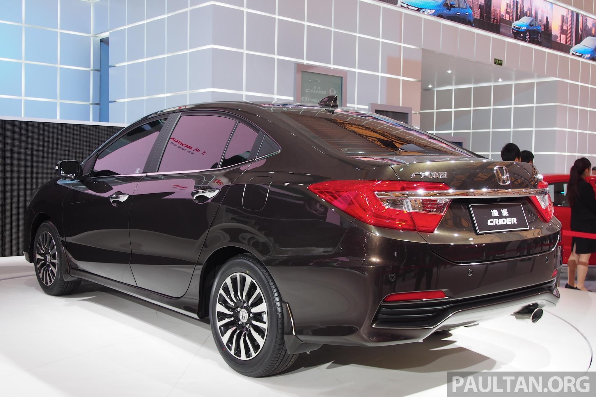 Shanghai 2013 Honda Crider Production Car Debuts Image 170536