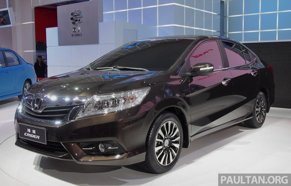 Shanghai 2013: Honda Crider production car debuts OLYMPUS ...