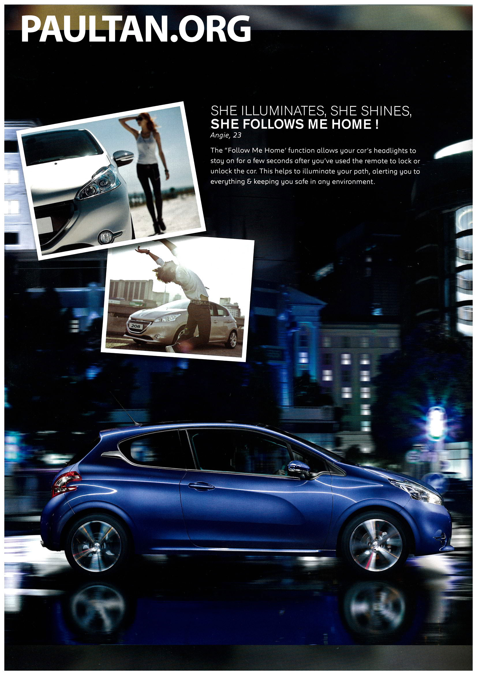 peugeot 208 on display specs unveiled via brochures image 167808. Black Bedroom Furniture Sets. Home Design Ideas