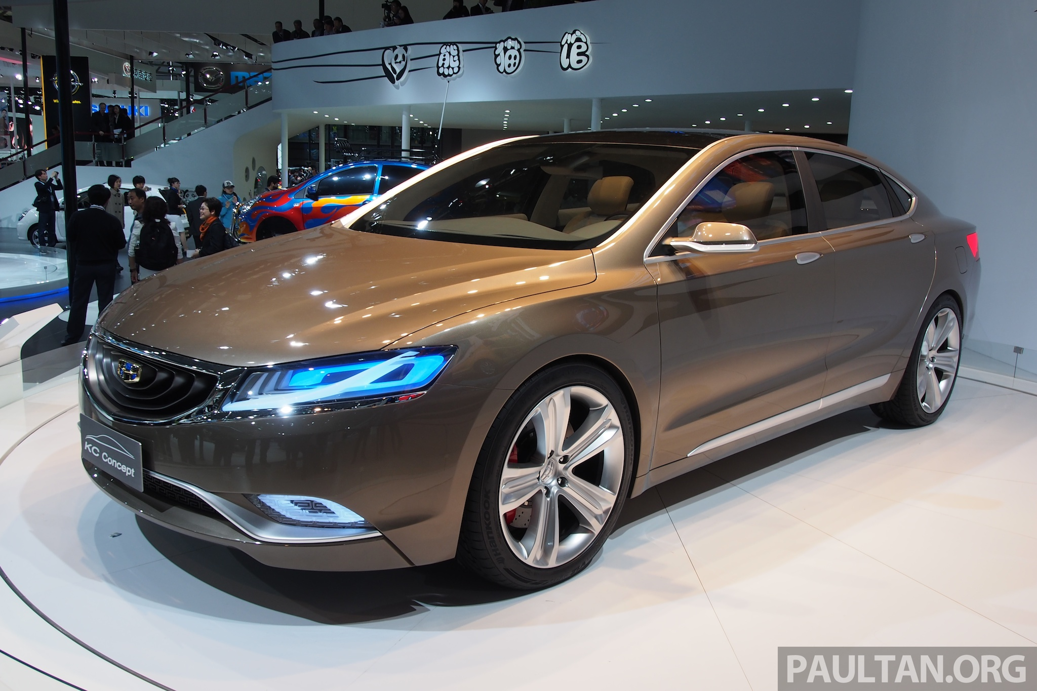 Geely KC Concept shows it has a Swede side too Image