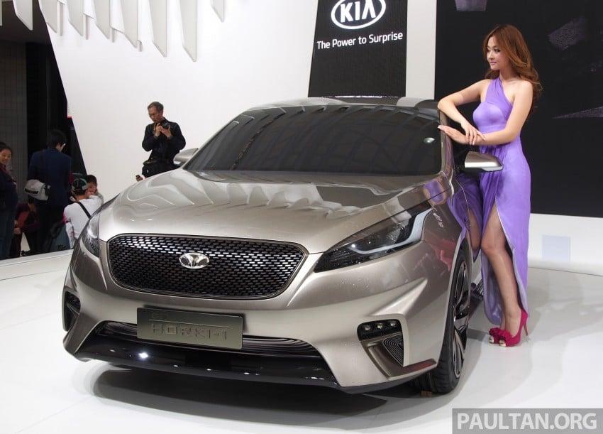 Kia Horki Concept unveils sub-brand for China Image #170575