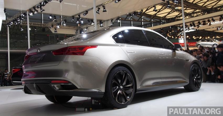 Kia Horki Concept unveils sub-brand for China Image #170585