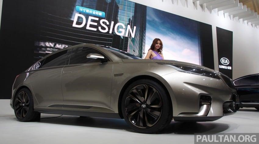 Kia Horki Concept unveils sub-brand for China Image #170581