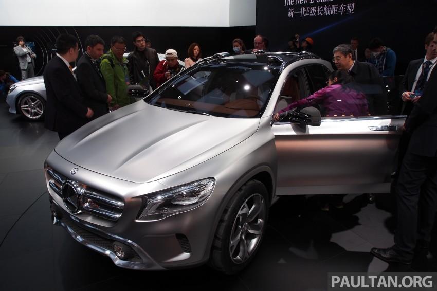 Shanghai 2013 Live: Mercedes-Benz Concept GLA Image #169886