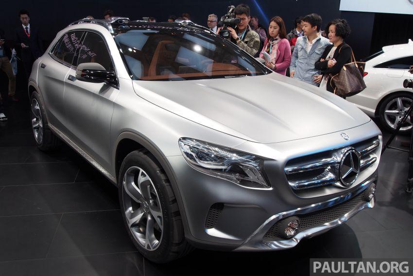 Shanghai 2013 Live: Mercedes-Benz Concept GLA Image #169866