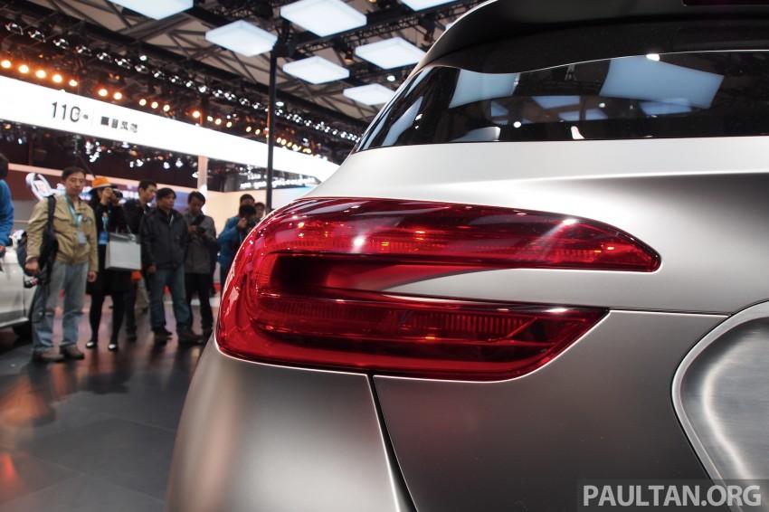 Shanghai 2013 Live: Mercedes-Benz Concept GLA Image #169875