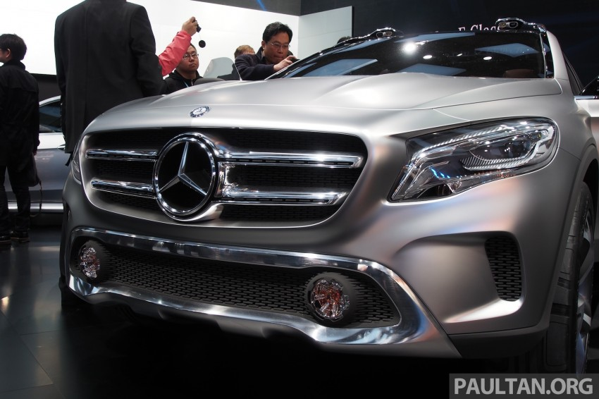 Shanghai 2013 Live: Mercedes-Benz Concept GLA Image #169881