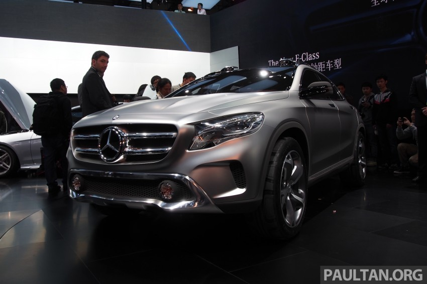 Shanghai 2013 Live: Mercedes-Benz Concept GLA Image #169890