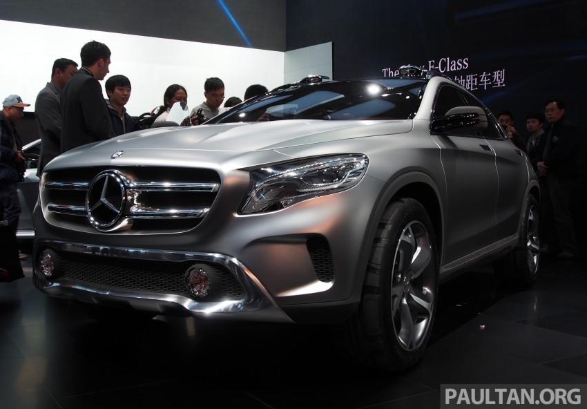 Shanghai 2013 Live: Mercedes-Benz Concept GLA Image #169887