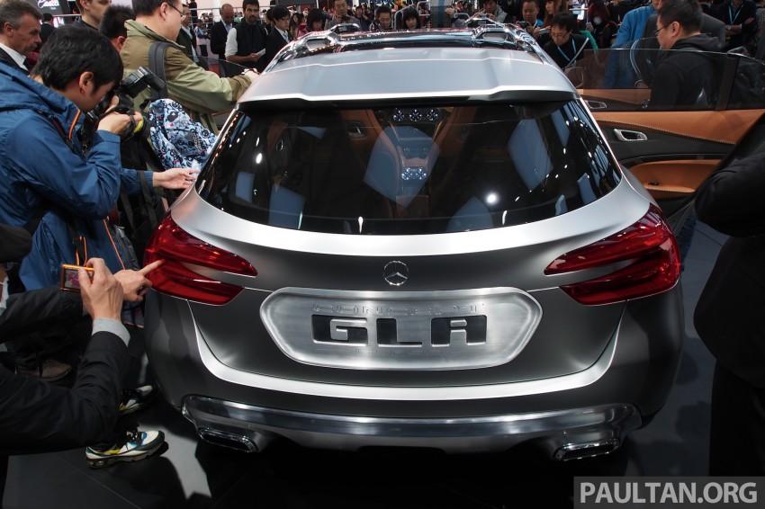 Shanghai 2013 Live: Mercedes-Benz Concept GLA Image #169870